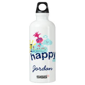 Glückliche Träume der Schleppangel-  Wasserflasche