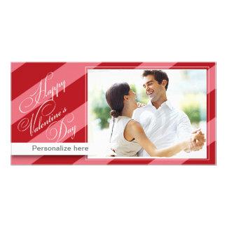 Glückliche Valentinstag-Karte Bildkarten