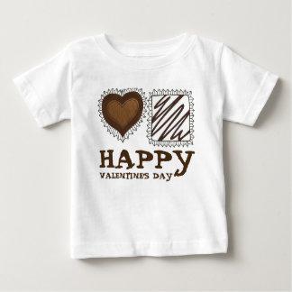 Glückliche Valentinstag-PralineBonBons Baby T-shirt