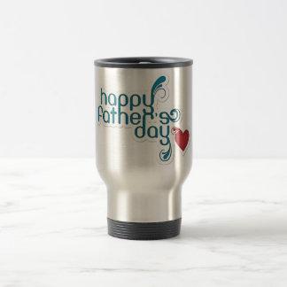 Glückliche Vatertags-Reise Tasse