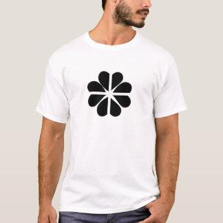 Glückliche vierblättriges Kleeblatt kornische T-Shirt