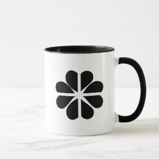 Glückliche vierblättriges Kleeblatt kornische Tasse