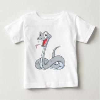 Glückliche Viper Baby T-shirt