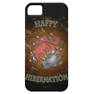 Glückliche Winterschlaf iphone Abdeckung Schutzhülle Fürs iPhone 5