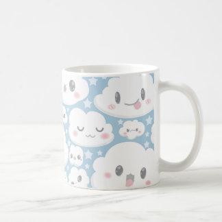 glückliche Wolke Kaffeetasse
