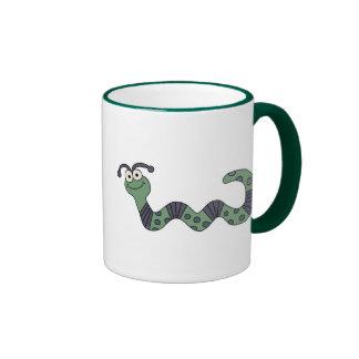 Glückliche Wurm-T-Shirts und Geschenke Kaffeetasse