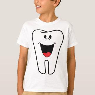 Glückliche Zähne kundengerecht für Ihre T-Shirt