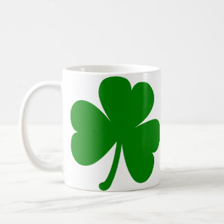 Glücklichen grünen St Patrick TagesKleeblatt Kaffeetasse