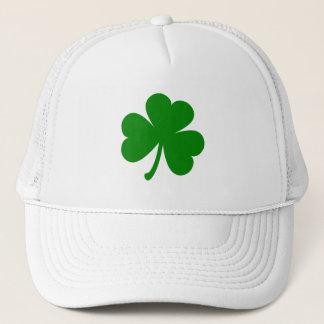 Glücklichen grünen St Patrick TagesKleeblatt Truckerkappe
