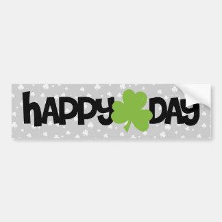 Glücklichen St Patrick Tag Autoaufkleber