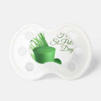 Glücklichen St Patrick Tag, irisches Hutheiliges Schnuller