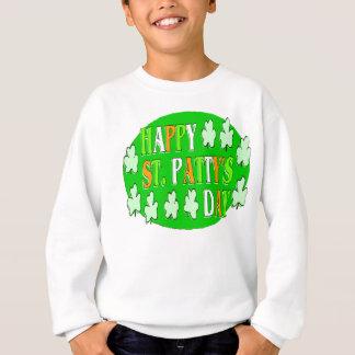Glücklichen St Patrick Tag Sweatshirt