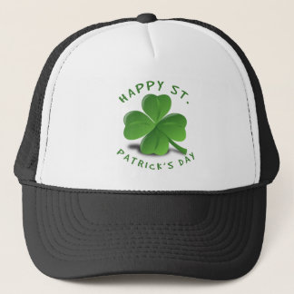 Glücklichen St Patrick Tag Truckerkappe