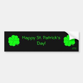 Glücklichen St Patrick TagesAutoaufkleber Autoaufkleber