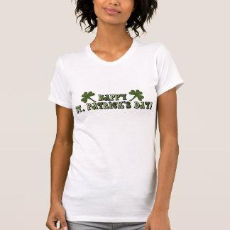Glücklichen St Patrick Tagesdamen-T-Shirt T-Shirt