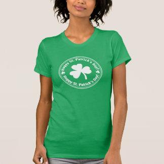 Glücklichen St Patrick TagesKleeblatt-Shirt T-Shirt
