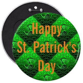 Glücklichen St Patrick Tagesknopf Button