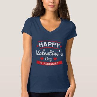 Glücklichen Valentinsgrußes am 14. Februar T-Shirt