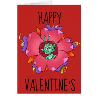 Glücklichen Valentinsgrußes Karte