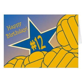 Glücklicher 12. Geburtstag zu meinem Karte