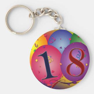 Glücklicher 18 Geburtstag Schlüsselanhänger