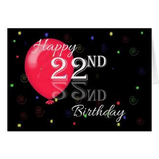 22 er geburtstag