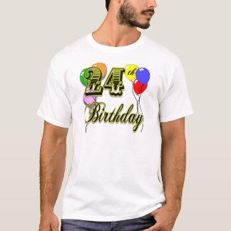 Glücklicher 24. Geburtstags-T - Shirt