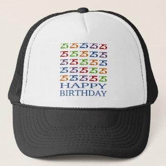 Glücklicher 25. Geburtstag! Truckerkappe