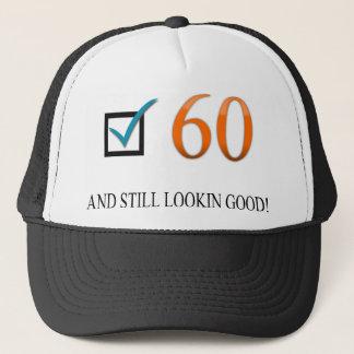 Glücklicher 60. Geburtstag Truckerkappe