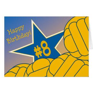 Glücklicher 8. Geburtstag zu meinem Karte