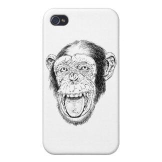 Glücklicher Affe iPhone 4 Hülle