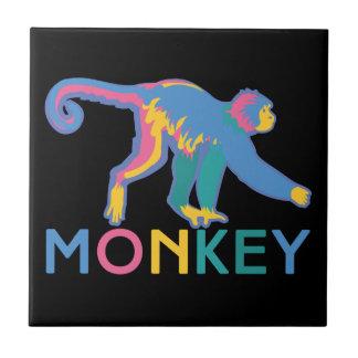 Glücklicher Affe Keramikfliese