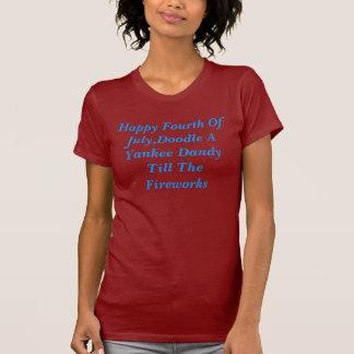 Glücklicher amerikanischer Unabhängigkeitstag, T-Shirt