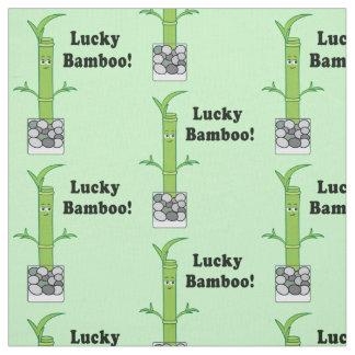 Glücklicher Bambus Stoff