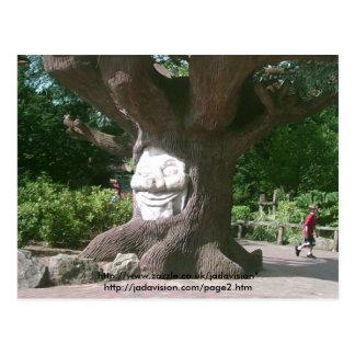 Glücklicher Baum an Alton Türmen Postkarte
