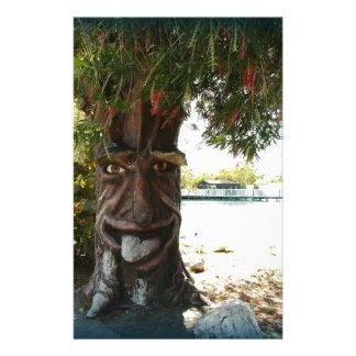 Glücklicher Baum Personalisierte Büropapiere