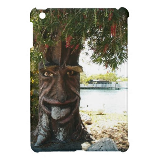 Glücklicher Baum Hülle Fürs iPad Mini