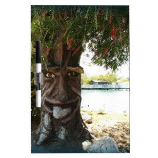Glücklicher Baum Whiteboard