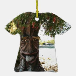 Glücklicher Baum Weihnachtsbaum Ornament