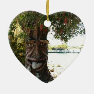 Glücklicher Baum Weihnachtsornament