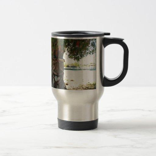 Glücklicher Baum Tee Haferl