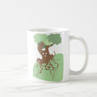 Glücklicher Baum Kaffee Tassen