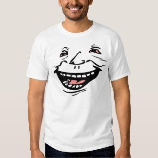 Glücklicher Baum-Typ T Shirts