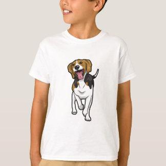 Glücklicher Beagle T-Shirt