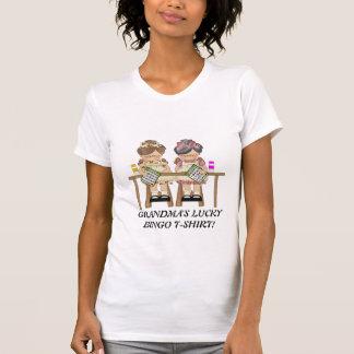 Glücklicher Bingo-T - Shirt der Großmutter