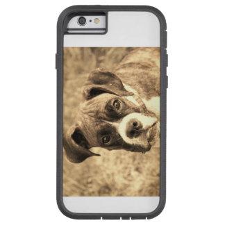 Glücklicher Boxer-Hund Tough Xtreme iPhone 6 Hülle