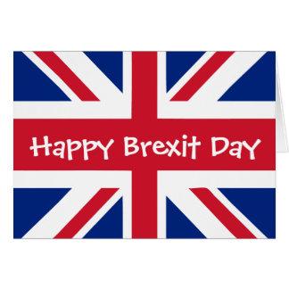 Glücklicher Brexit Tag - 29. März Karte