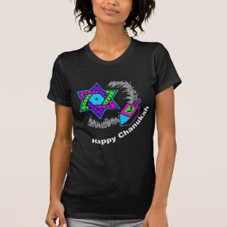 Glücklicher Chanukah Dunkelheits-T - Shirt