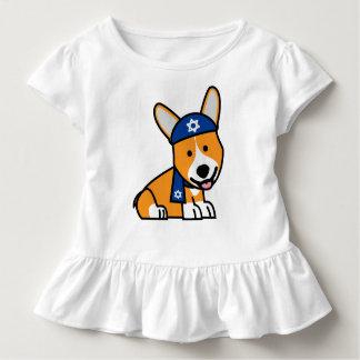 Glücklicher Chanukka jüdischer Kleinkind T-shirt