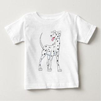 Glücklicher Dalmatiner Baby T-shirt